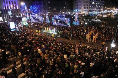 Horario y recorrido de la Cabalgata de Reyes de Bilbao