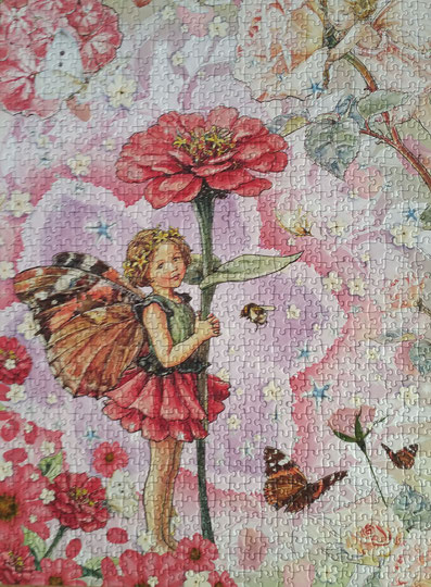 Puzzle Flower Fairies - Zinie