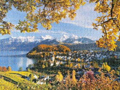 Puzzle Spiezer Buch - Berner Oberland