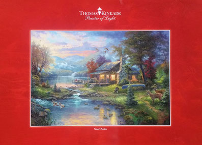 Nature's Paradise - Thomas Kinkade - Painter of Light