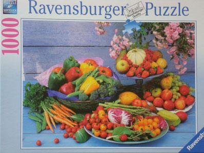 Puzzle Stilleben mit Früchten