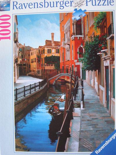Puzzle venezianische Impressionen