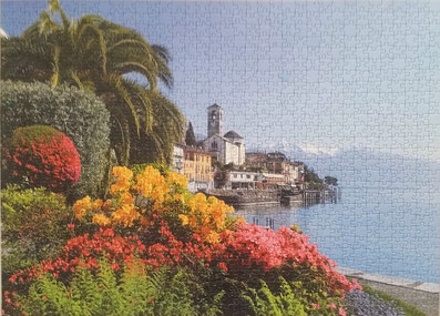 Puzzle Brissago - Lago Maggiore - Schweiz