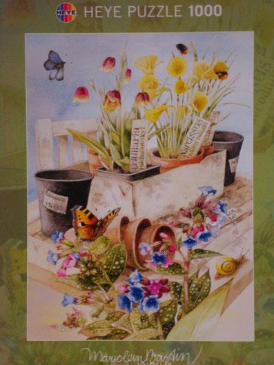 Puzzle Flowerbox - Schönes aus Blumen und Töpfen