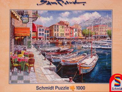 Puzzle Café in Cassis - Romantischer Hafen