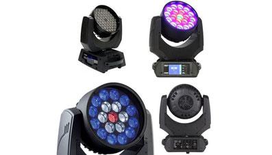 LEDムービング 照明機材レンタル-株式会社RKB