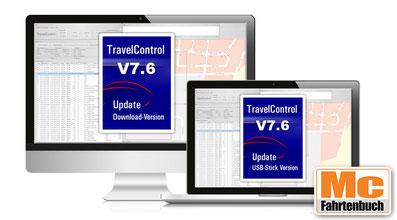 TravelControl personal, das elektronische Fahrtenbuch