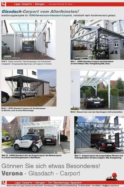 Flyer Glasdach-Carports Seite 2