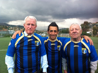 Luigi Bosca, Roberto Iannolo ed Emiliano Giordano