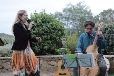 Concert chant de la mediterranée Lisa et Vincent Magrini