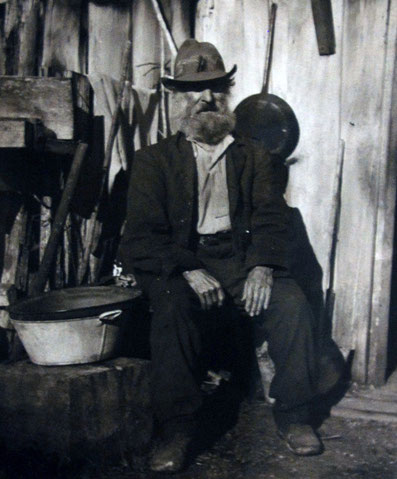 'Old George'  Wiltshire - a hatter -lving on Lake Kaniere Road (Hokitia Museum no date)
