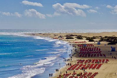 Strandbetrieb vor der Coronakrise