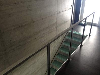 glazen trap van Graah