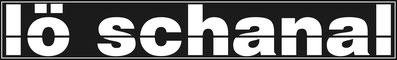 lö schanal logo schwarz weiss