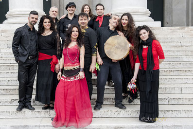 compagnia soleluna, gruppo di pizzica taranta tammurriate musica popolare