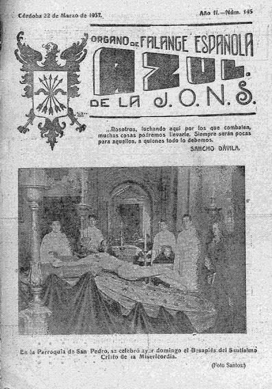 Historia - HERMANDAD DE LA MISERICORDIA - CÓRDOBA (ESPAÑA)