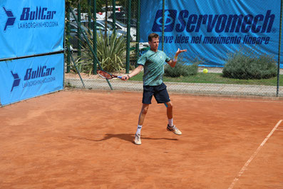 Giacomo Gobbi, tennis, mental coach, psicologia dello sport. Giorgio Sola ©