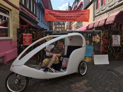 Hamburg: Fahrradtaxi, Velotaxi und Stadtrundfahrt 102