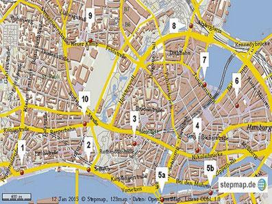 Stadtführung Hamburg Top 10
