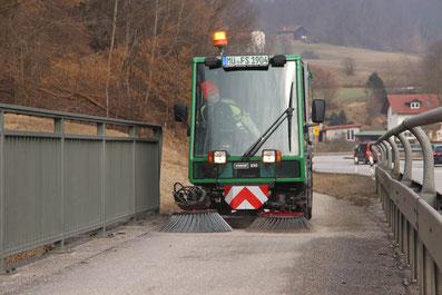 Schmidt Swingo 250 Färber Straßenreinigung