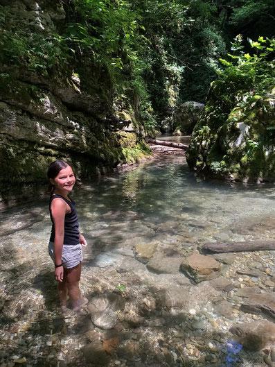 Kozjak Wasserfall Slowenien