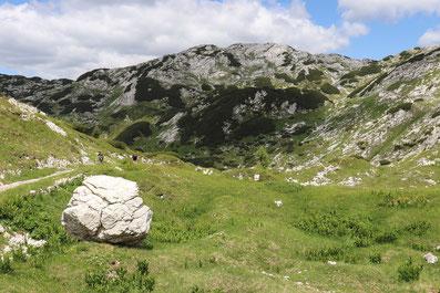Karstlandschaft in Slowenien, Triglav Nationalpark