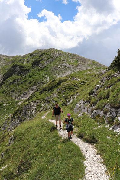 Wanderung Bogatinom Hütte