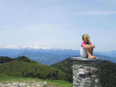 Tageswanderungen mit Kind in Slowenien, Photo Credit: Barbara Kosir, Freeliving Adventures