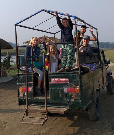 Jeepsafari Chitwan