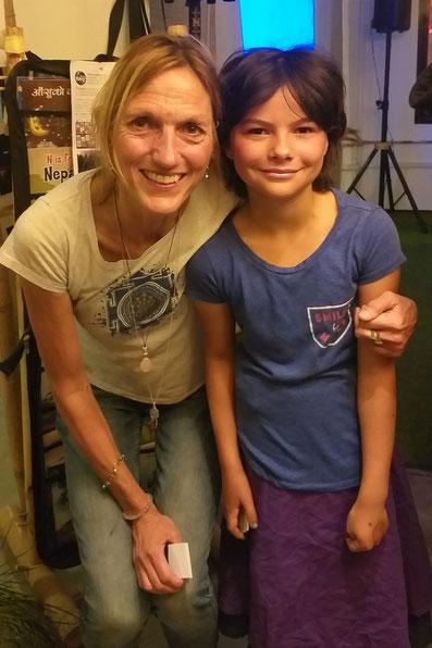 Miriam konnte Billi Bierling kennenlernen und war beeindruckt!
