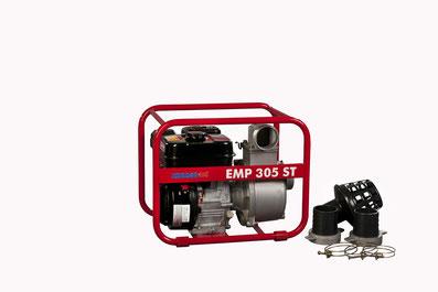 Schmutzwasserpumpen, Endress EMP 305 T, Robin PTG 205 T, Robin PTV 110,
