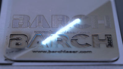 Carving and deep engraving with laser machines.