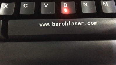 laser marking on plastic ABS