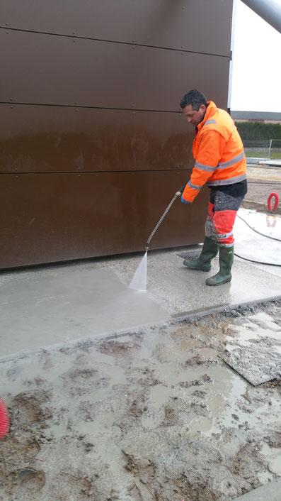 Etape 7 - Passage au nettoyeur haute-pression - TTA