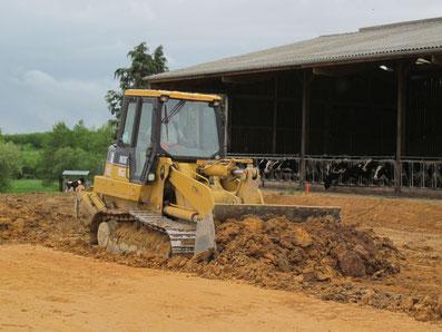 Terrassement pour plateforme agricole - TTA