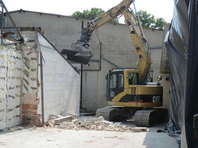 Démolition de bâtiments - TTA