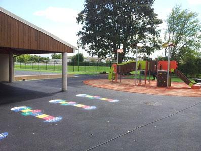 Cour d'école - aire de jeux - TTA