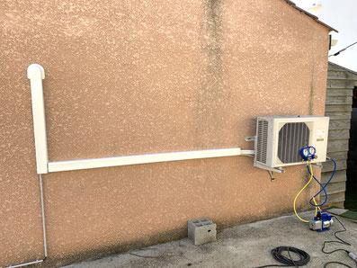 mise en service climatisation 34260