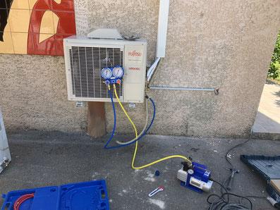 remplacement climatisation reversible la tour sur orb 34260