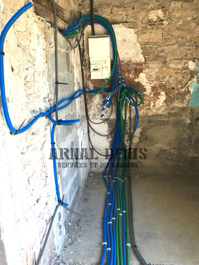 installation electrique 34260