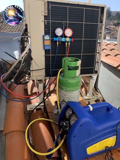 recuperation fluide frigorigene r410 climatisation 34260