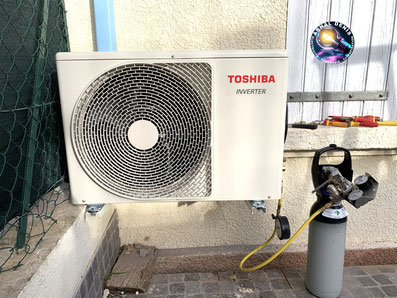pose climatisation toshiba 34260