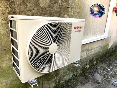 pose climatisation toshiba la tour sur orb 34260