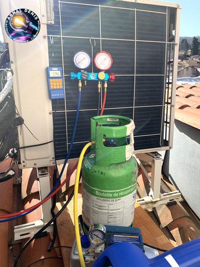 recupertion gaz climatisation la tour sur orb 34260