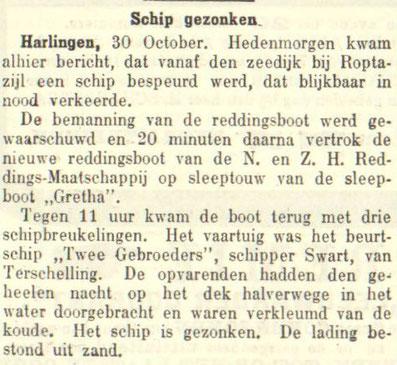 Leeuwarder Courant 31-10-1911