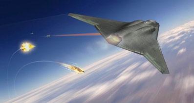 Disegno di un caccia per il progetto FX di Northrop Grumman.