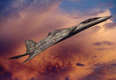 Come dovrebbe essere il sostituto dell'F-22 secondo Lockheed Martin.