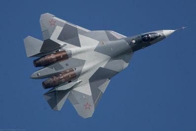 Sukhoi PAK FA (T-50) / (foto: Rostec)