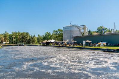 PTAR aguas residuales de industria papel