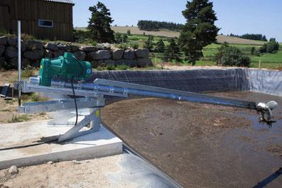 agitadores lagunas - biodigestores - mezcladores biogas - agitadores biogas